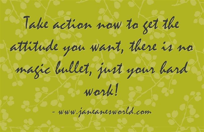 It is magnificent to use the new year as a reason to take action now and get a new attitude.