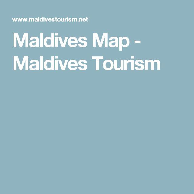 Maldives Map - Maldives Tourism