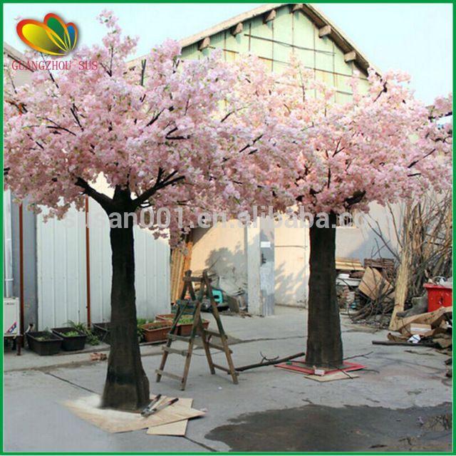 Source Cheap Wholesale High Quality Artificial Cherry Blossom Flower Tree Fa White Cherry Blossom Blossom Tree Wedding
