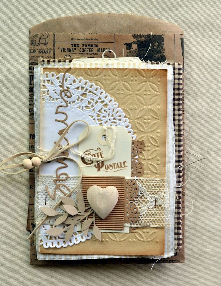 mini-album carte de patmiaou idées à reprendre: utiliser du papier craft, photo inspirante(moustache et cadre )