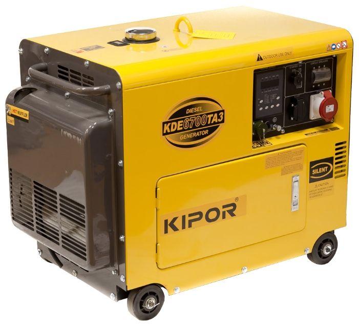 Generator curent Kipor KDE 6700 TA3 (4,4 kW)