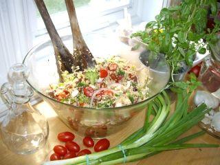 Salade de quinoa santé