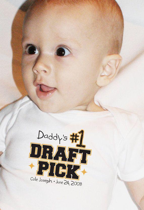 Daddy's No. 1 Draft Pick