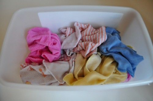Using cloth wipes and homemade wipes solution | Simple Homemade