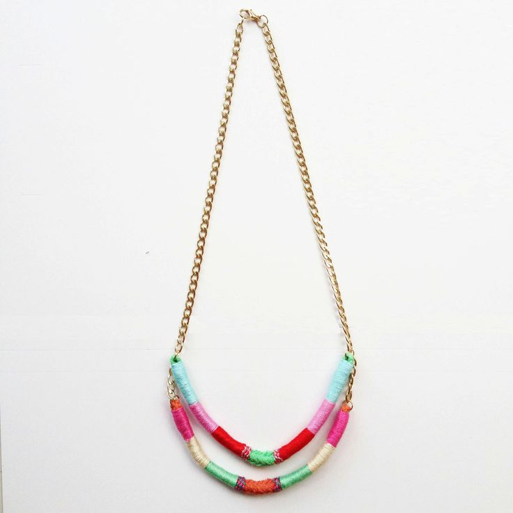 Carrie Two-Strand Upcycled Necklace