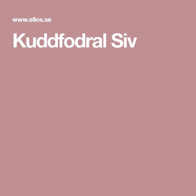 Kuddfodral Siv
