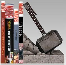 Thor's Hammer Single Bookend   Movie Replicas Direct