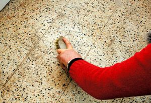 Cleaning the Impossible: Yellowing Linoleum; Use Vodka to get rid of that musty smell in cabinets; How to clean kitchen cabinets that are sticky!