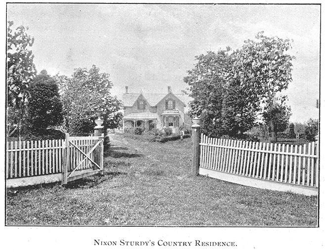Sturdy Residence, Goderich, Ontario c.1897 #Goderich #RediscoverGoderich #VintageGoderich