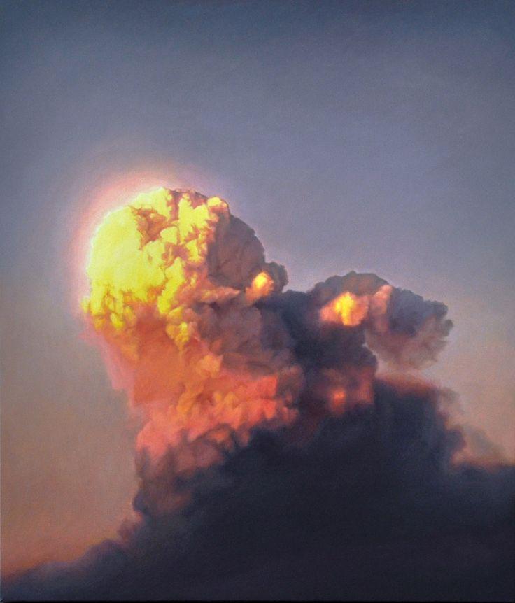 James Bonnici Cloud at Sunset Oil on linen, 61 x 71 cm
