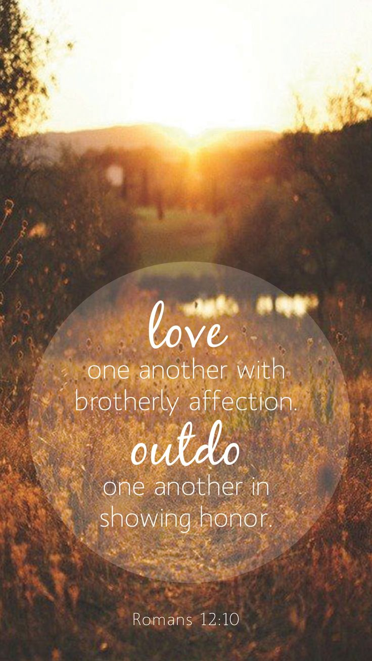 Outdo one another in showing honor | Romans 12:10