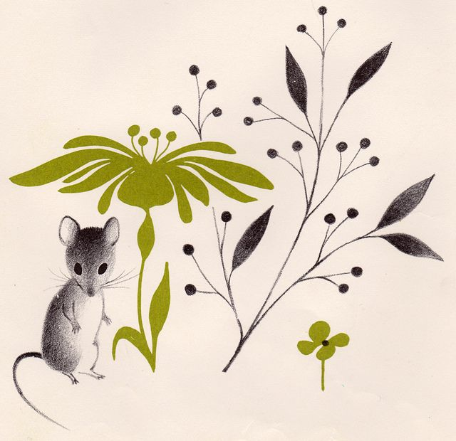 Mary's Marvelous Mouse written by Mary Francis Shura, illustrated by Adrienne Adams (1962) | by my vintage book collection (in blog form)