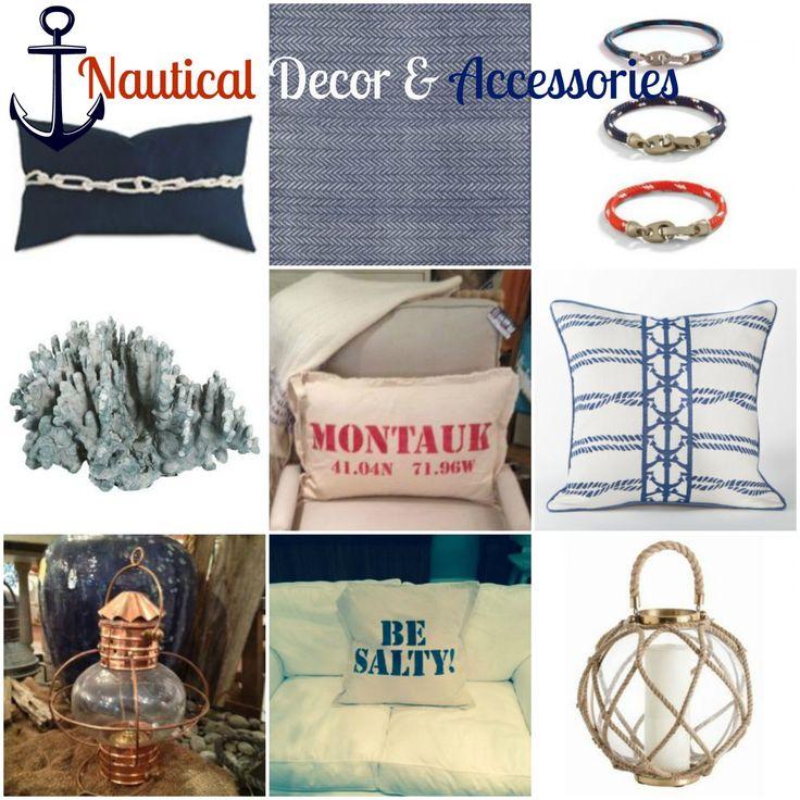 Coastal Home Decor Accessories: 258 Best Images About Nautical Decor On Pinterest