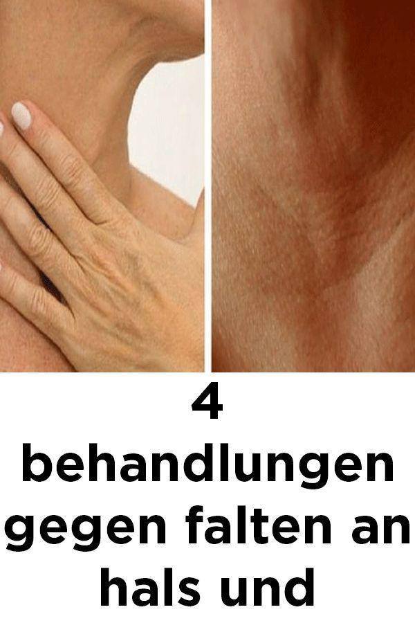 4 Behandlungen gegen Falten an Hals und Händen