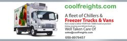 Truck Freezer,refrigerated,chiller,cooler Rentals boxes and containers many years of experience in the refrigerated transport industry in dubai uae. As a locally owned and operated family business, the company endeavors to accommodate customers' requirements 24 hours a day, 7 days a week. Truck Freezer/refrigerated/chiller/cooler Rentals specializes solely in the hire of refrigerated vehicles and cool boxes/freezer and refrigerated trucks.