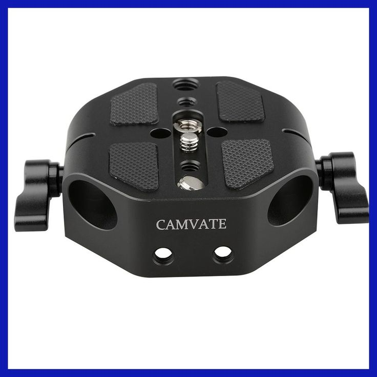 CAMVATE DSLR Camera Baseplate Support Rail System Base Plate For Canon EOS C100/300/500 Fondos De Estudio Fotografia Kit
