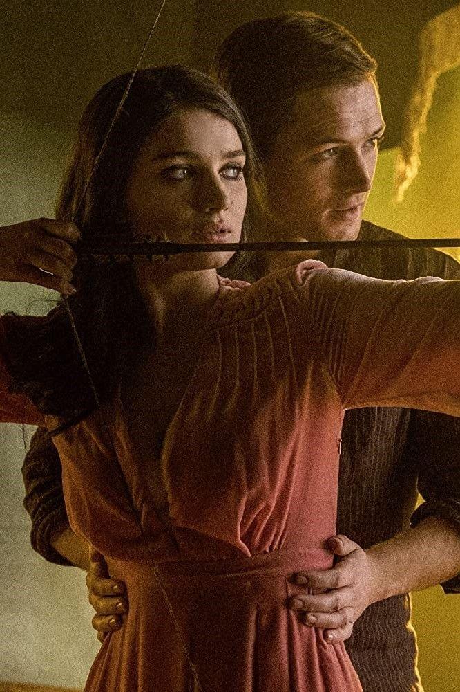 Eve Hewson And Taron Egerton In Robin Hood 2018 Robin Hood Best Action Movies Movie Scenes