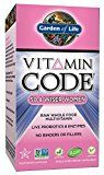 Garden of Life Vegetarian Multivitamin Supplement for Women - Vitamin Code 50 & Wiser Women's Raw Whole Food Vitamin with Probiotics, 240 Capsules