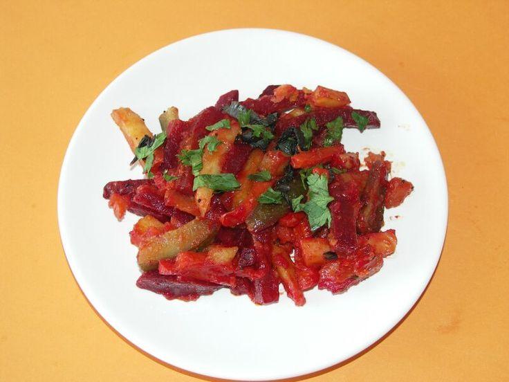 Вегетарианские рецепты / Готовим вкусно и интересно: Свекольное сабджи