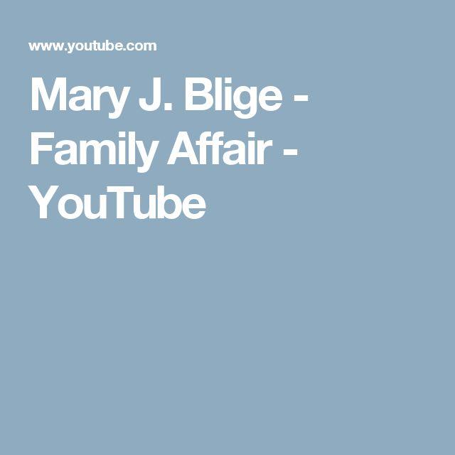 Mary J. Blige - Family Affair - YouTube