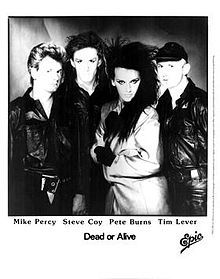 I'm giving props to Pete Burns and the boys from Dead or Alive; one of my favorite groups of the 80's.  Their early albums are incredible and Pete has one of the most amazing voices I've heard.  Pete has since turned a corner and reinvented himself in the most interesting way.  Thanks for the memories!