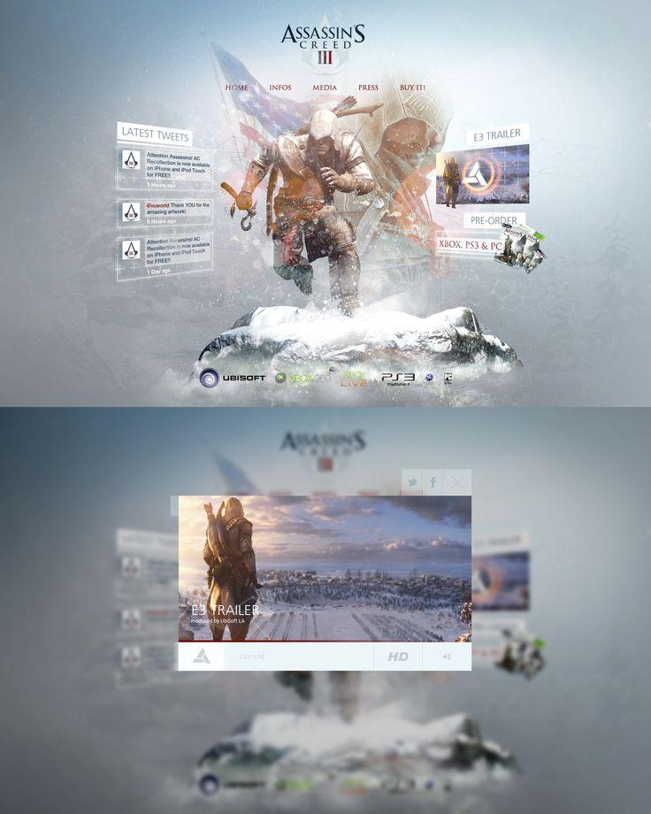 Assassins Creed 3 Re-Design
