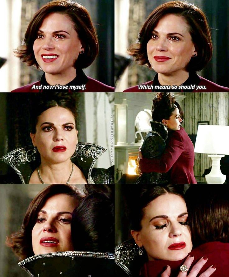 """""""Now I love myself. Which means so should you"""" - Regina and the Evil Queen #OnceUponATime (by storybrookmagic)"""