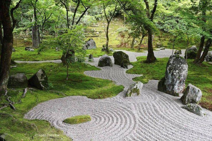 一滴海庭、光明禅寺、太宰府 Dry Garden, Komyozenji, Dazaifu