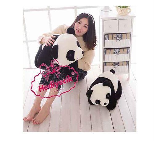 Pelüş Oyuncak Yatan Panda 80 cm