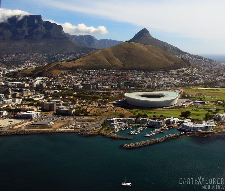 Amazing Birds Eye View of Cape Town, South Africa — by earthXplorer media