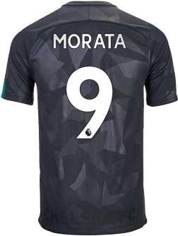 Nike Alvaro Morata Chelsea 3rd Jersey 2017-18 | SoccerMaster.com