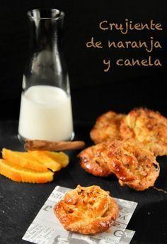 """Crujiente de hojaldre con naranja y canela de """"blogexquisit.blogs.ar-revista.com"""""""