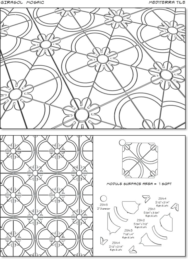 Alicatado Mosaic | Mediterra Tile
