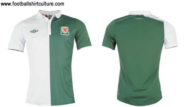 Wales 2012/13 - Away - Official Football Shirt - UMBRO