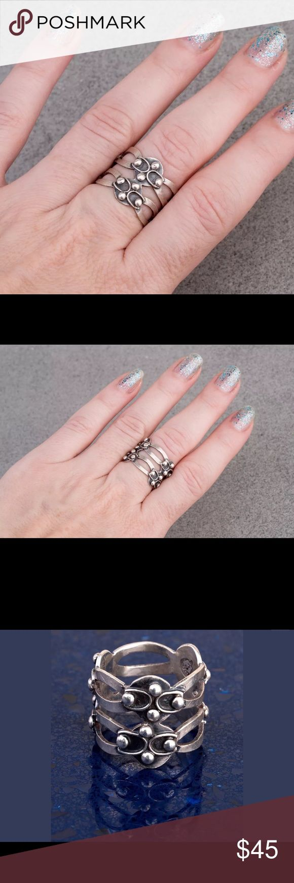 195 best Boho Sterling Silver Rings images on Pinterest