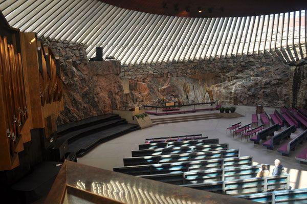 Rock Church in Helsinki #VisitFinland