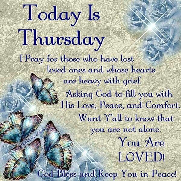 854 best Thursday Blessings/Greetings images on Pinterest ... Thursday Quotes