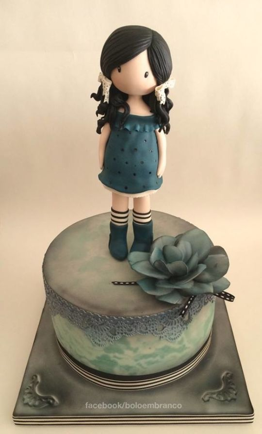 Gorjuss Doll Cake
