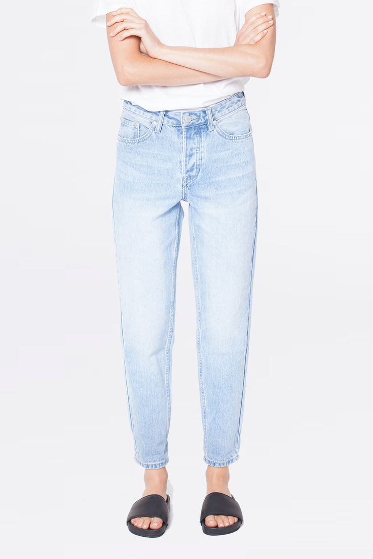 Assembly Label - High Waisted Jean Sea Blue