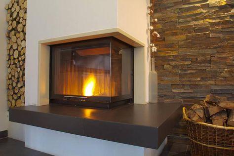 1000 ideen zu eckkamin auf pinterest kamin neu modisch. Black Bedroom Furniture Sets. Home Design Ideas