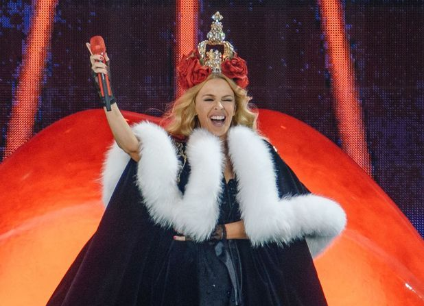 Kylie Minogue performs at British Summer Time 2015
