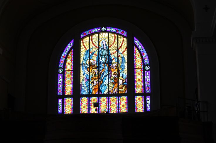 Church Stained Glass Inside