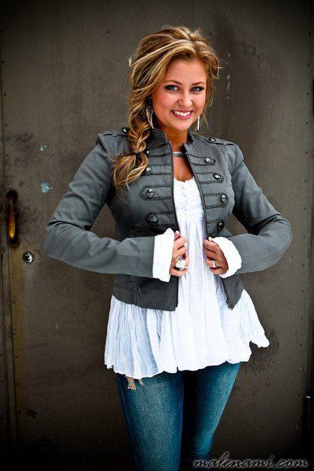 Balmain inspired jacket via malenami.com