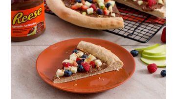 REESE Spreads Peanut Butter Chocolate Apple Pizza Recipe