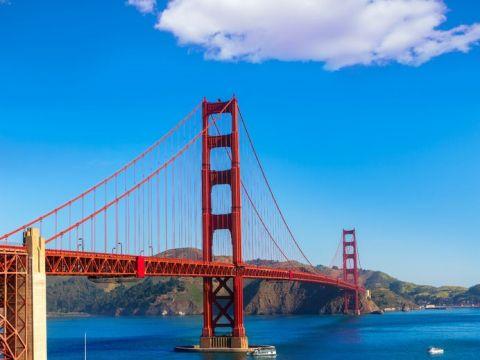 サンフランシスコのシンボル、ゴールデンゲートブリッジ!アメリカ 旅行・観光見所。