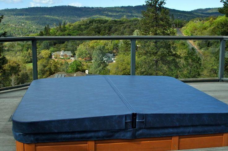Beautiful view for this www.Thecoverguy.com hot tub cover.