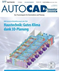 AUTOCAD & Inventor Magazin Magazine 6/13 issue – Get your digital copy