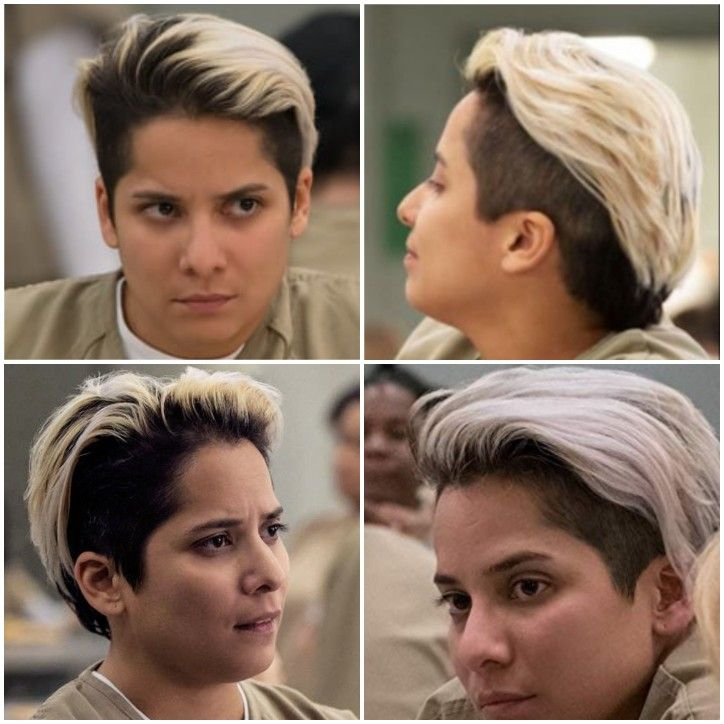 Vicci Martinez Hairstyle Orange Is The New Black Vicci Martinez Pixie Styles
