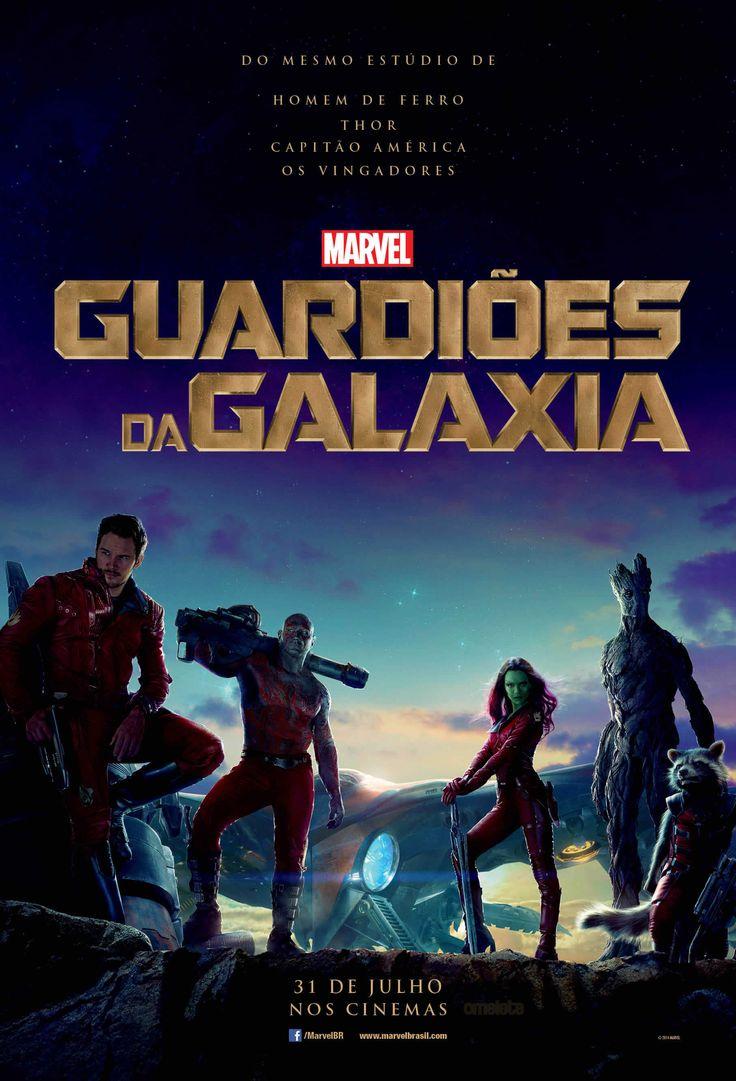 Cartaz nacional de Guardiões da Galáxia.
