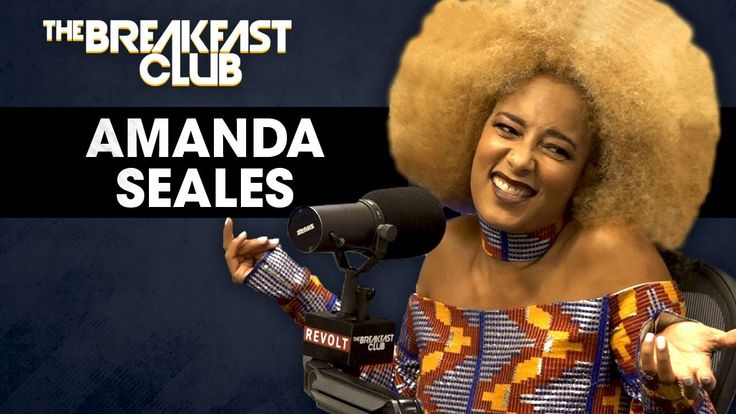 Amanda Seales On Male Insecurities, Russell Simmons, Colorism In America...